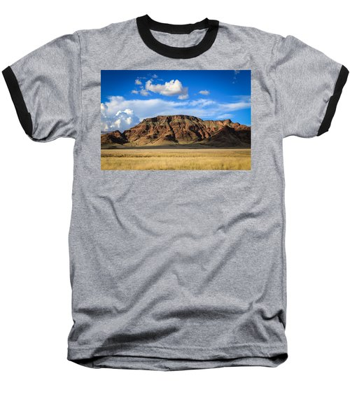 Aferican Grass And Mountain In Sossusvlei Baseball T-Shirt