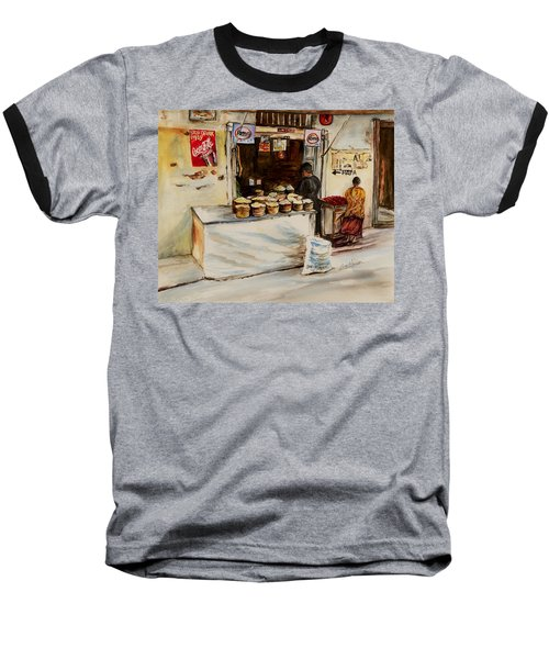 African Corner Store Baseball T-Shirt