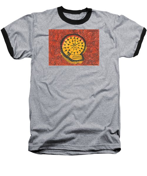 African Shell Pattern Baseball T-Shirt