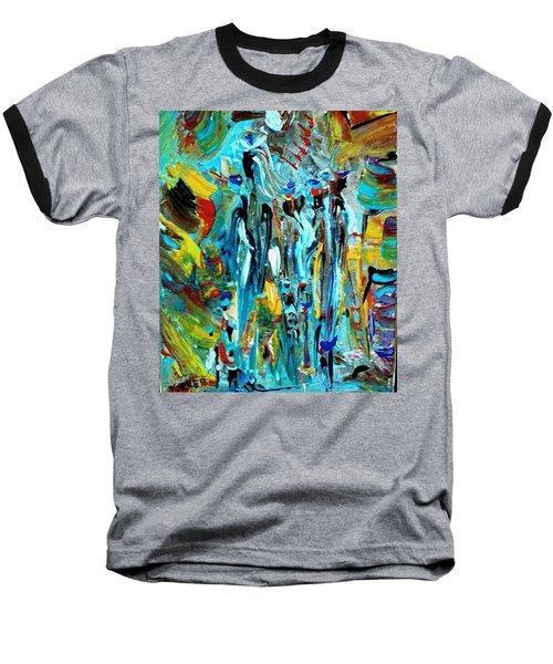 African Tribe Festivals Baseball T-Shirt by Kelly Turner