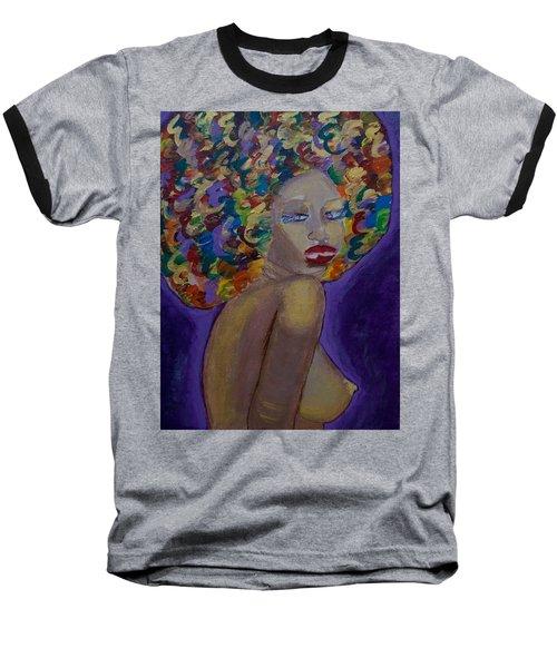 Afro-chic Baseball T-Shirt
