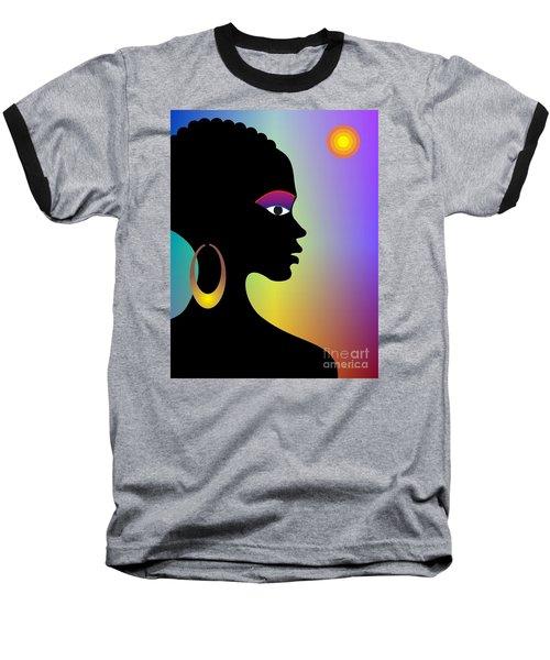 Afroette Baseball T-Shirt
