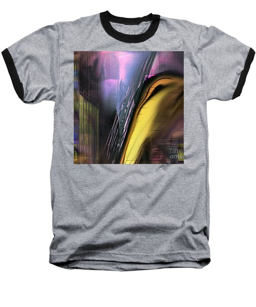 Baseball T-Shirt featuring the painting After Dark 2 by Yul Olaivar