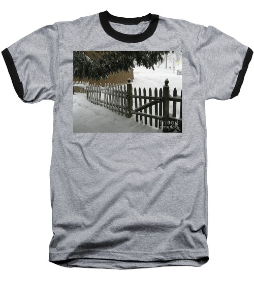 After The Blizzard Baseball T-Shirt