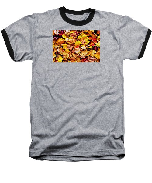 Baseball T-Shirt featuring the photograph After The Fall by Daniel Thompson