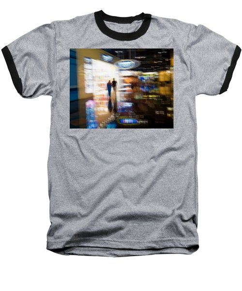 Baseball T-Shirt featuring the photograph After The Show by Alex Lapidus