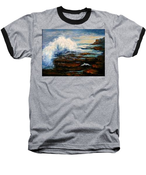 Baseball T-Shirt featuring the painting After The Storm by Gail Kirtz