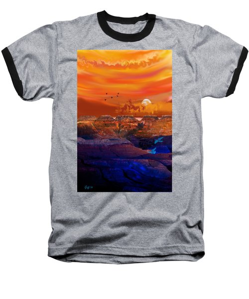 After The Storm Baseball T-Shirt by J Griff Griffin