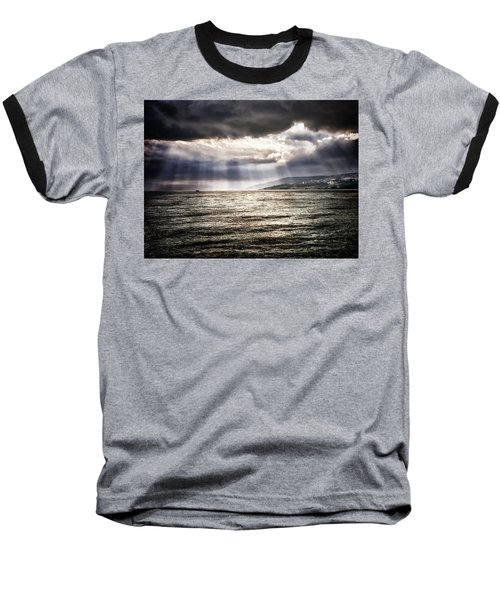After The Storm Sea Of Galilee Israel Baseball T-Shirt