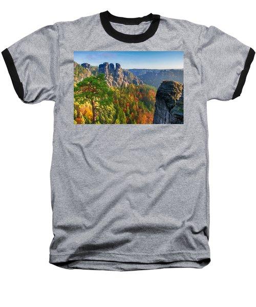After The Sunrise On The Bastei Baseball T-Shirt