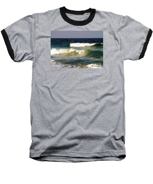 Aftermath Of A Storm Baseball T-Shirt by Patricia Griffin Brett