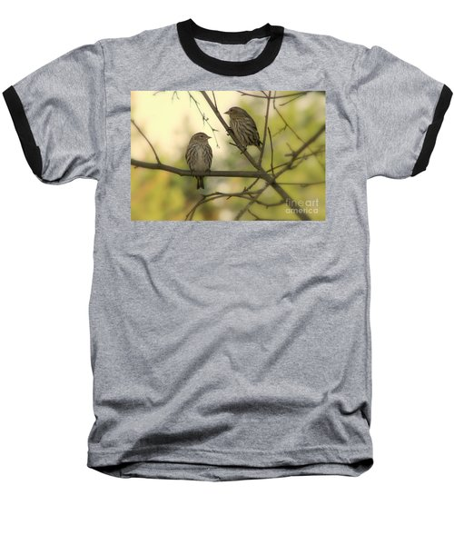 Afternoon Sit Baseball T-Shirt by Leone Lund
