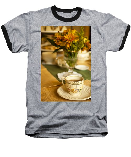Baseball T-Shirt featuring the photograph Afternoon Tea Time by Andrew Soundarajan