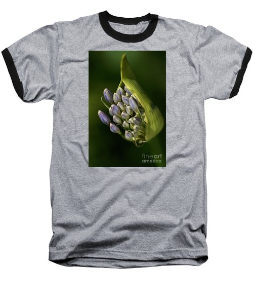 Baseball T-Shirt featuring the photograph Agapanthus by Joy Watson