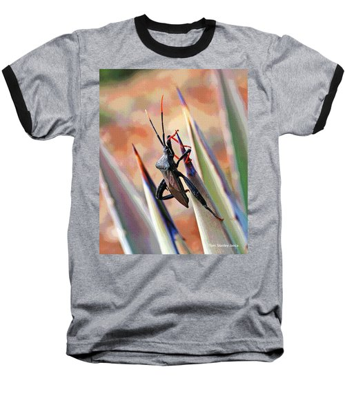 Baseball T-Shirt featuring the photograph Agave Bug  by Tom Janca