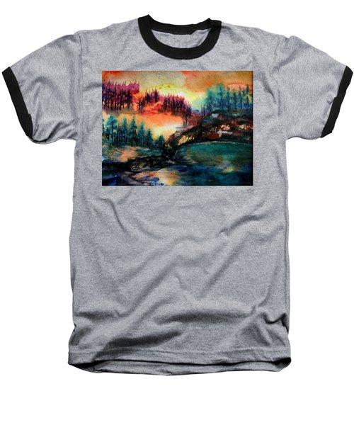 Aglow Baseball T-Shirt