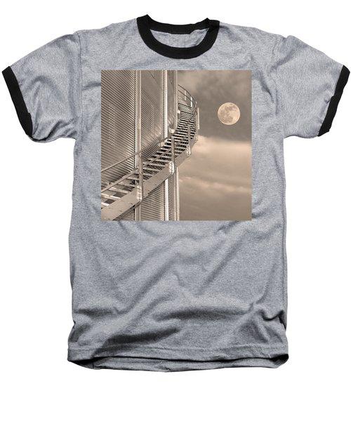 Agri Moon Baseball T-Shirt