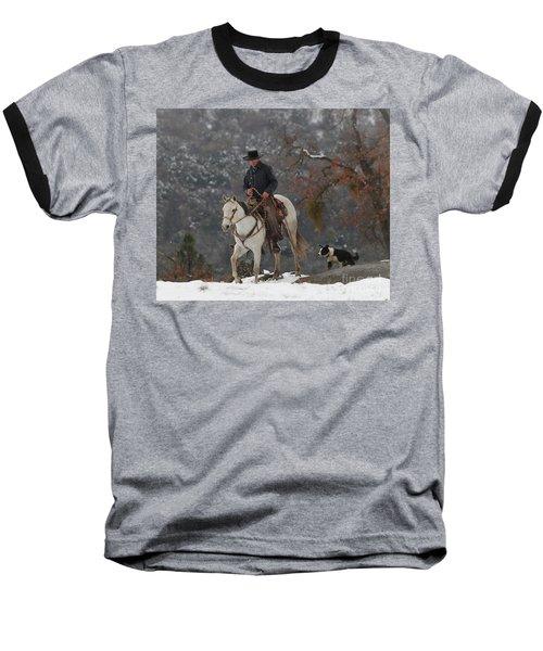 Ahwahnee Cowboy Baseball T-Shirt by Diane Bohna
