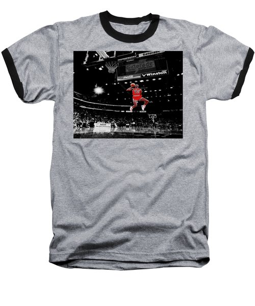 Air Jordan Baseball T-Shirt by Brian Reaves
