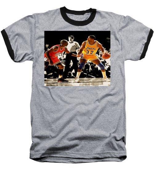 Air Jordan On Magic Baseball T-Shirt by Brian Reaves