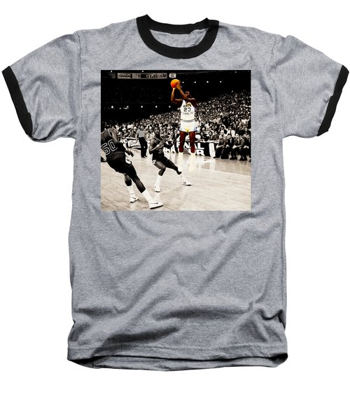 Air Jordan Unc Last Shot Baseball T-Shirt by Brian Reaves