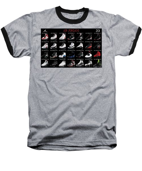 Air Jordan Shoe Gallery Baseball T-Shirt