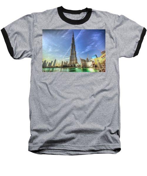 Baseball T-Shirt featuring the photograph Air Trail by John Swartz