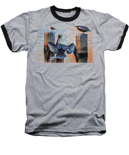 Airing Out Baseball T-Shirt by Shannon Harrington