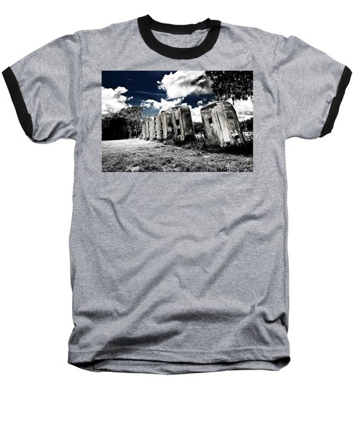 Airstream Ranch In Ir Hdr Baseball T-Shirt