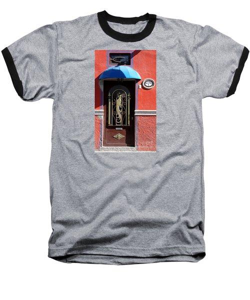 Ajijic Door #8 Baseball T-Shirt