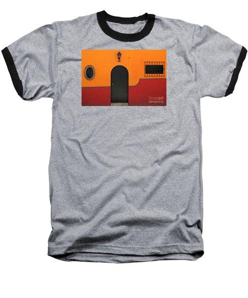 Ajijic Door No.4 Baseball T-Shirt