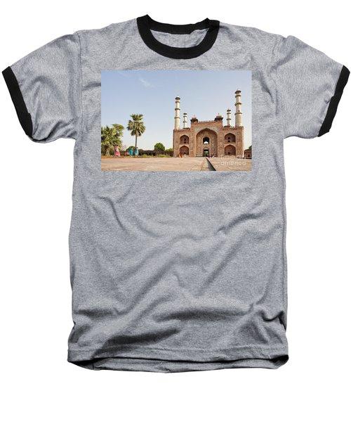 Akbar's Tomb In  India Baseball T-Shirt