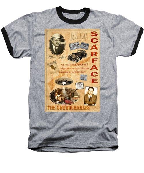 Al Capone Baseball T-Shirt