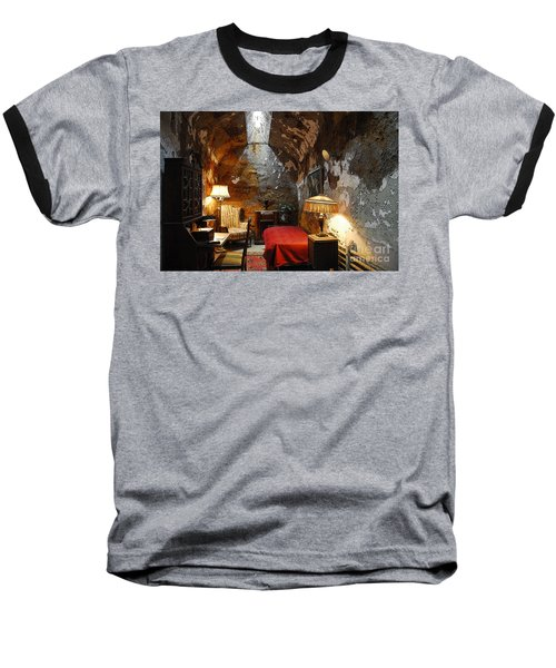 Al Capone's Cell Baseball T-Shirt