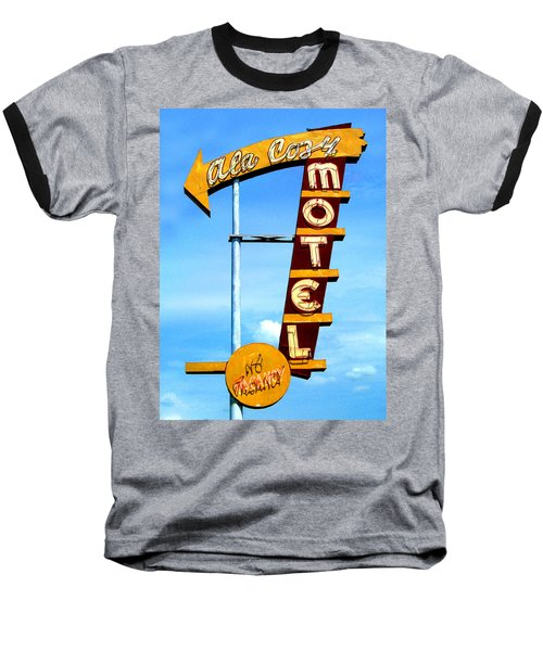 Ala Cozy Motel Baseball T-Shirt