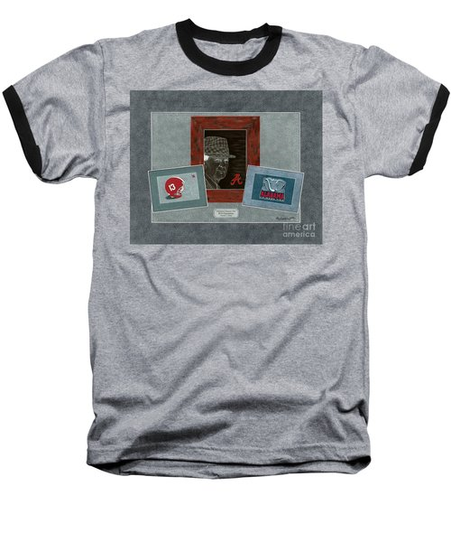 Alabama Trio  Baseball T-Shirt by Herb Strobino