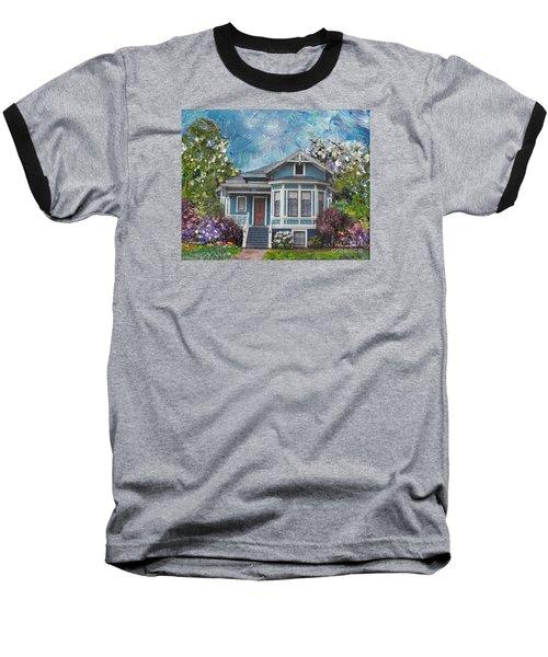 Alameda 1884 - Eastlake Cottage Baseball T-Shirt