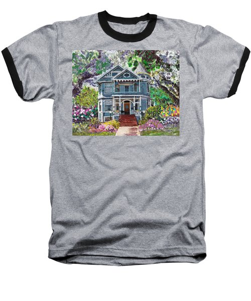 Alameda 1890 Queen Anne Baseball T-Shirt