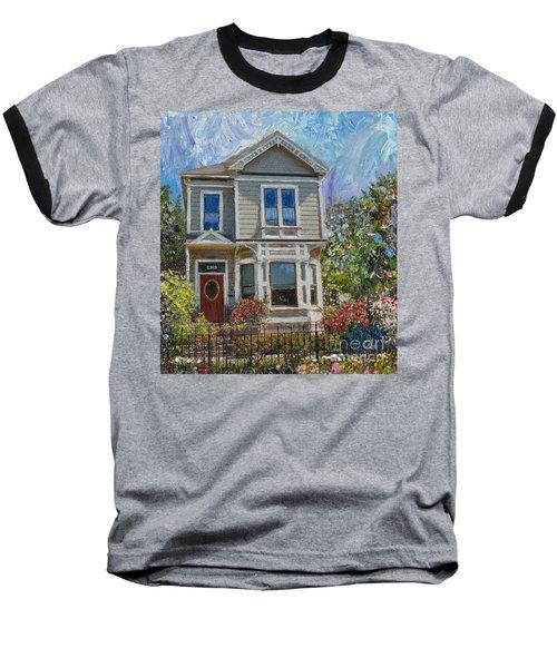 Alameda 1892 Queen Anne Baseball T-Shirt
