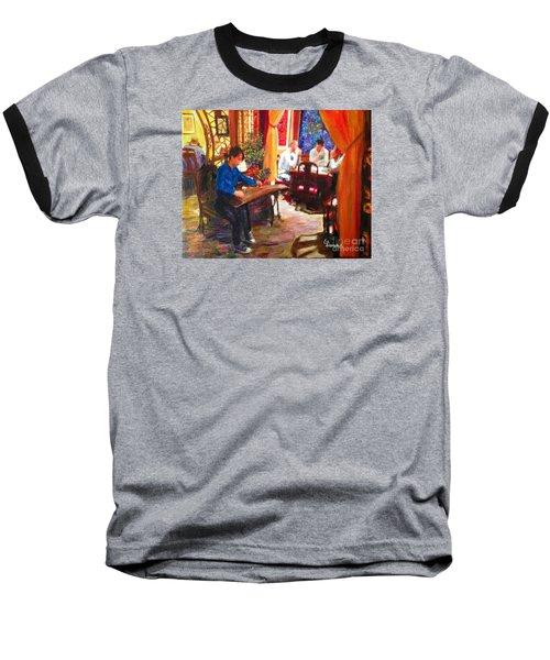 Guzheng Baseball T-Shirt