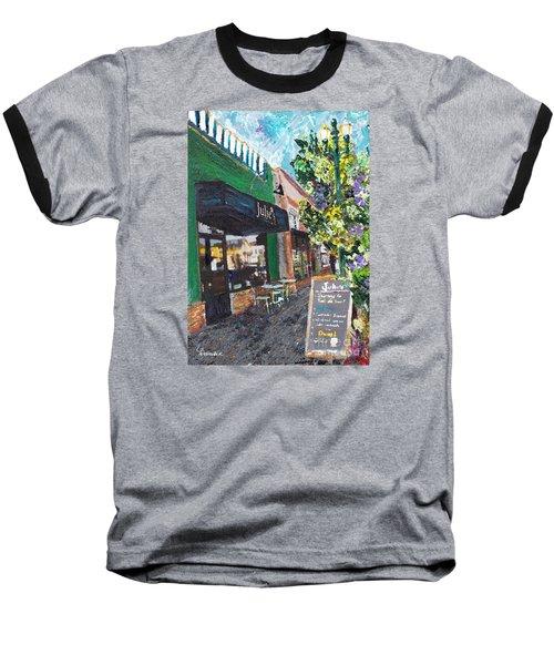 Alameda Julie's Coffee N Tea Garden Baseball T-Shirt
