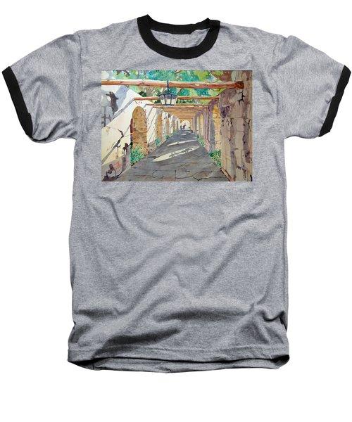 Alamo Walkway Baseball T-Shirt
