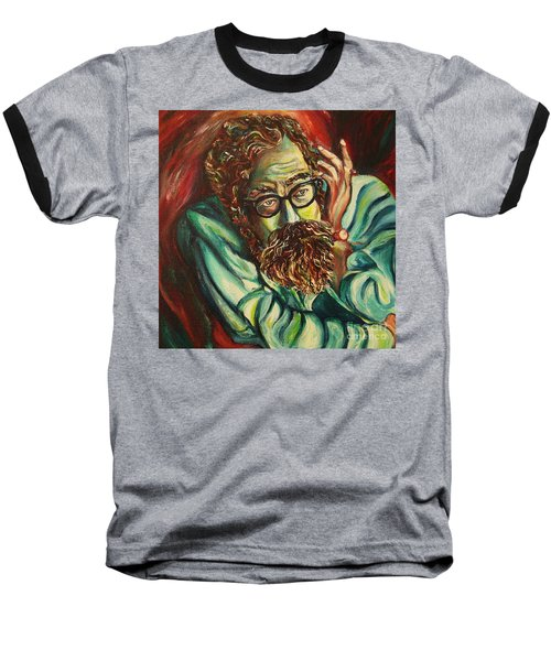 Alan Ginsberg Poet Philosopher Baseball T-Shirt