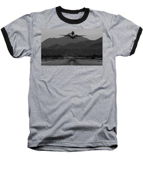 Alaska Airlines Palm Springs Takeoff Baseball T-Shirt