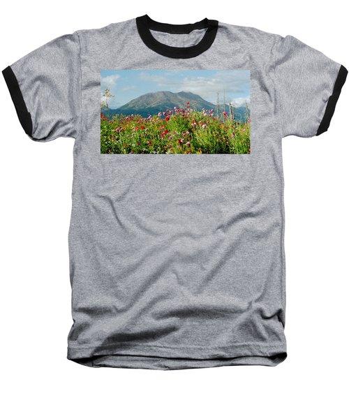 Alaska Flowers In September Baseball T-Shirt
