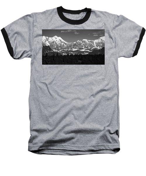 Alaska Range Baseball T-Shirt
