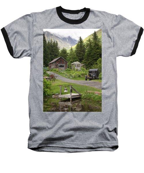 Alaskan Pioneer Mining Camp Baseball T-Shirt