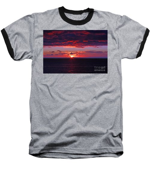 Alaskan Sunset Baseball T-Shirt