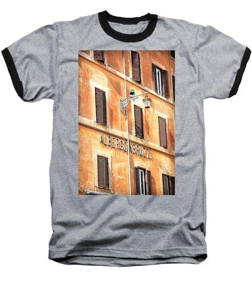 Albergo Abruzzi Baseball T-Shirt by Valentino Visentini