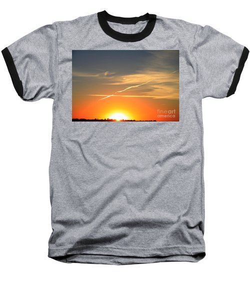 Alberta Sunset Baseball T-Shirt